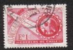 Sellos del Mundo : America : Chile : 40 Aniversario del Club Automovilístico de Chile