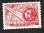 Sellos de America - Chile -  40 Aniversario del Club Automovilístico de Chile