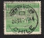 Stamps Chile -  Faro de Colón, Descubrimiento de América