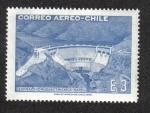 Stamps Chile -  Central Hidroeléctrica de Rapel