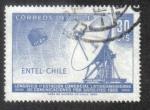 Sellos de America - Chile -  Estación de satélite y radar