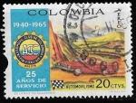 Sellos de America - Colombia -  Colombia-cambio