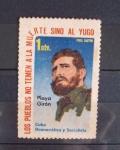 Stamps : America : Cuba :  Sello de Fidel Castro, hay muy pocos de él