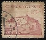 Sellos de Europa - Checoslovaquia -  Castillo de Zvolen