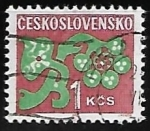 Sellos de Europa - Checoslovaquia -  Flores ornamentales