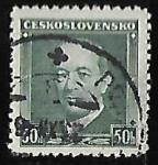 Sellos del Mundo : Europa : Checoslovaquia : Dr. Edvard Beneš (1884-1948)