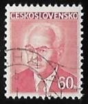 Sellos del Mundo : Europa : Checoslovaquia : Gustav Husák (1913-1991)