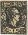 Stamps Germany -  Sachsen Y & T Nº 2