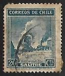 Sellos de America - Chile -  Salitre