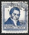 Sellos del Mundo : America : Chile : Centenario fallecimiento Presidente J.J. Prieto Y
