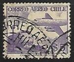 Sellos del Mundo : America : Chile : Avion y tren