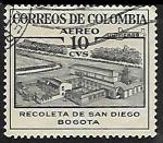Sellos del Mundo : America : Colombia : Recoleta de san Diego Bogota