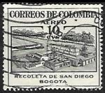 Sellos de America - Colombia -  Recoleta de san Diego Bogota