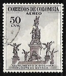 Stamps America - Colombia -  Monumento a Bolivar