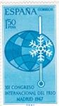 Stamps Europe - Spain -  XII CONGRESO INTERNACIONAL DEL FRIO (30)