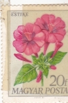 Stamps Europe - Hungary -  flores-