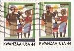 Stamps : America : United_States :  Kwanzaa