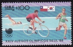 Stamps Chile -  SEÚL 88