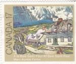 Sellos del Mundo : America : Canadá : pintura de Marc-Aurele Fortin