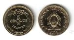 monedas de America - Honduras -  5 Centavos de Lempira