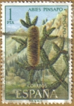 Stamps Spain -  PINSAPO - Flora Hispanica