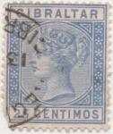 Stamps Gibraltar -  GB Gibraltar Y & T Nº 24 [1]