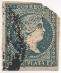 Stamps Cuba -  Antilla_Esp_Y & T Nº 1