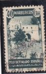 Stamps : Africa : Morocco :  panorámica de Tetuan