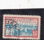 Stamps : Africa : Morocco :  las cofradías