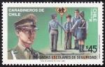 Sellos del Mundo : America : Chile : Brigadas escolares de seguridad