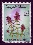 Sellos del Mundo : Africa : Marruecos : Thymus broussoneti