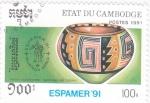 Sellos de Asia - Camboya -  ESPAMER-91