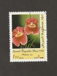 Stamps Somalia -  Flor Miltonia isis