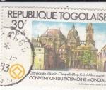 Stamps : Africa : Togo :  CONVENCIÓN DEL PATRIMONIO MUNDIAL