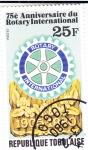 Stamps : Africa : Togo :  75 ANIV. ROTARY INTERNACIONAL