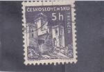 de Europa - Checoslovaquia -  CASTILLO DE TRENCIN