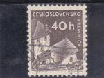 de Europa - Checoslovaquia -  CASTILLO DE KREMNICA