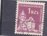 de Europa - Checoslovaquia -  CASTILLO DE SMOLENICE