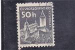 Sellos del Mundo : Europa : Checoslovaquia : CASTILLO DE KRIVOKLAT