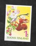 de Europa - Finlandia -  2272 - Flor