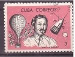 Stamps Cuba -  Pioneros del áire