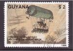 Sellos de America - Guyana -  proeza