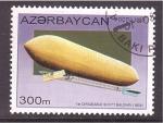 de Asia - Azerbaiyán -  serie- 1º dirigible