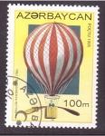 Stamps Azerbaijan -  serie- 1º dirigible