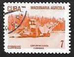 Sellos de America - Cuba -  Exportaciones cubanas - Maquinas agricolas