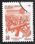 Stamps Cuba -  Exportaciones cubanas Tabaco