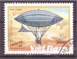 Stamps Vietnam -  serie-dirigibles