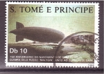 Stamps São Tomé and Príncipe -  150 años
