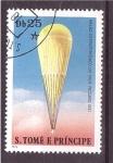Sellos de Africa - Santo Tomé y Principe -  serie- globos aerostáticos