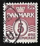 Stamps Europe - Denmark -  olas - numero 5
